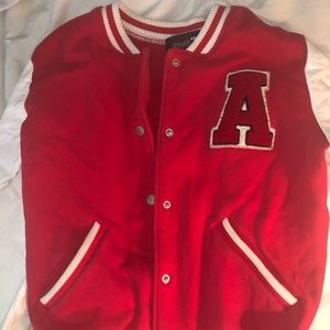 Varsity Jacket with Letter A